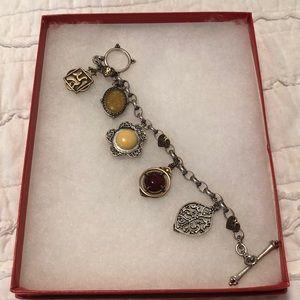 Lucky brand charmed bracelet